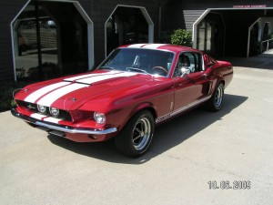 Wolf's '67 Mustang Fastback GT-350