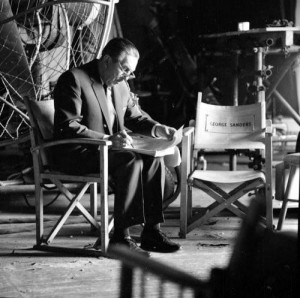 Walt at work at the Studio