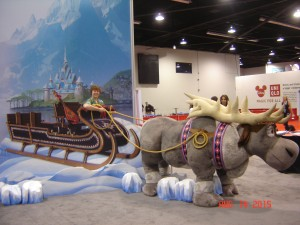 Sleigh ride with Sven